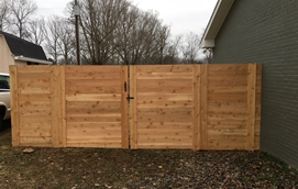 custom home fences