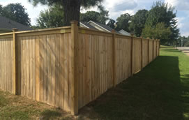 clarksville privacy fence contractor